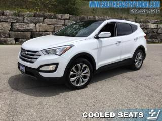 Used 2016 Hyundai Santa Fe Sport 2.0T Limited  - Leather Seats - $173.87 B/W for sale in Simcoe, ON