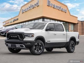 New 2019 RAM 1500 Rebel  - Leather Seats - Navigation - $367.81 B/W for sale in Brantford, ON
