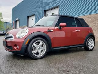 Used 2009 MINI Cooper CONVERTIBLE VENDU for sale in St-Eustache, QC
