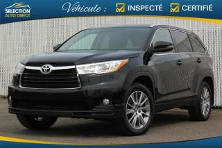 Used 2016 Toyota Highlander XLE AWD for sale in Ste-Rose, QC