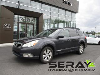 Used 2010 Subaru Outback SPORT AWD for sale in Chambly, QC