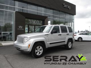 Used 2012 Jeep Liberty Sport AWD for sale in Chambly, QC