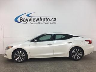Used 2016 Nissan Maxima SL - PANOROOF! HTD LTHR! 1 OWNER LEASE RETURN! for sale in Belleville, ON