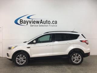 Used 2018 Ford Escape - 10,000KMS! BIG SCREEN! HTD SEATS! + MORE! for sale in Belleville, ON