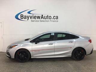 Used 2018 Chevrolet Cruze LT Auto - RS! 1500KMS! NEW BLK WHEELS! BIG SCREEN! HTD SEATS! + MORE! for sale in Belleville, ON