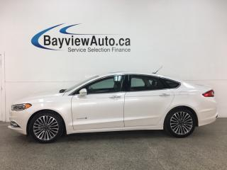 Used 2018 Ford Fusion Hybrid Titanium - HTD/COOLED LEATHER! SUNROOF! NAV! ALLOYS! + MORE! for sale in Belleville, ON