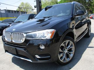 Used 2015 BMW X3 X Line |XDRIVE28i | NAVIGATION | PANO ROOF | 80KM for sale in Burlington, ON