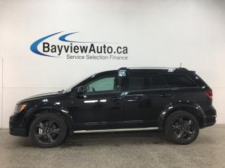 Used 2018 Dodge Journey Crossroad - 12,000KMS! 7 RIDER! DVD! LEATHER! ROOF! NAV! for sale in Belleville, ON