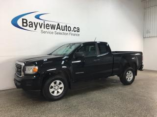 Used 2016 GMC Canyon - 6SPD MANUAL! ONLY 18,000KMS! REVERSE CAM! ALLOYS! for sale in Belleville, ON