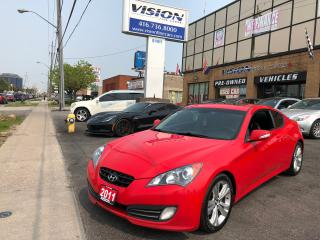 Used 2011 Hyundai Genesis Coupe 3.8/INFINITY STEREO/BLUETOOTH/CLEAN CARFAX for sale in North York, ON
