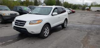 Used 2008 Hyundai Santa Fe Limited AWD 120k safetied we finance Limited 5-Pass for sale in Madoc, ON
