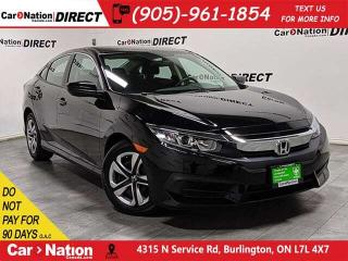 Used 2018 Honda Civic LX| BACK UP CAMERA| HETAED SEATS| for sale in Burlington, ON