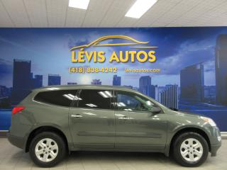 Used 2011 Chevrolet Traverse LS AWD 8 PASSAGERS for sale in Lévis, QC