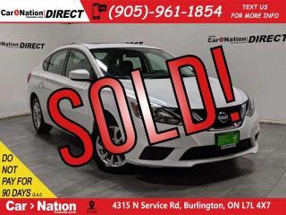 Used 2018 Nissan Sentra 1.8 SV  SUNROOF  BACK UP CAMERA  for sale in Burlington, ON