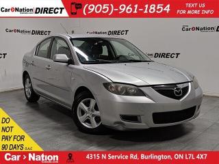 Used 2008 Mazda MAZDA3 GX| AS-TRADED| ALLOYS| OPEN SUNDAYS| for sale in Burlington, ON
