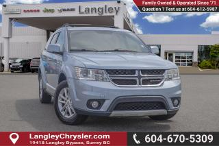 Used 2013 Dodge Journey SXT/Crew *DVD* for sale in Surrey, BC