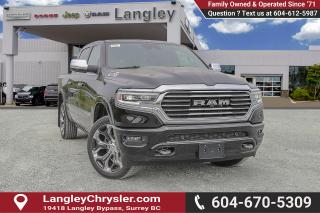 New 2019 RAM 1500 Laramie Longhorn - HEMI V8 - Leather Seats for sale in Surrey, BC