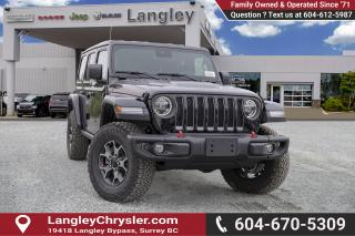 New 2019 Jeep Wrangler Unlimited Rubicon - Leather Seats for sale in Surrey, BC