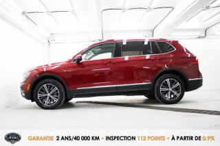 Used 2018 Volkswagen Tiguan HIGHLINE 4MOTION + 5 for sale in Québec, QC