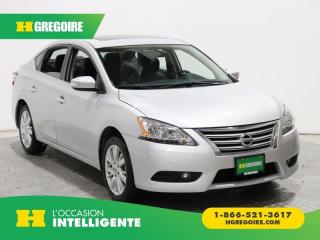 Used 2014 Nissan Sentra SL MAGS CUIR for sale in St-Léonard, QC