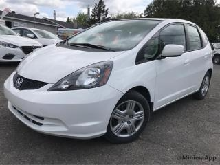 Used 2014 Honda Fit Hayon 5 portes, boîte automatique, LX for sale in Drummondville, QC