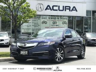 Used 2017 Acura TLX 2.4L P-AWS w/Tech Pkg Navi, Remote Start, 8-Spd Dual-Clutch for sale in Markham, ON