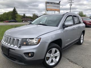 Used 2015 Jeep Compass Sport/North 4x4 with Alloys, Auto, Cruise, Pwr Windows, Keyless Entry and Fog Lights! for sale in Kemptville, ON