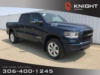 New 2019 RAM 1500 Big Horn Crew Cab | Heated Seats | Heated Steering Wheel | Remote Start for sale in Weyburn, SK