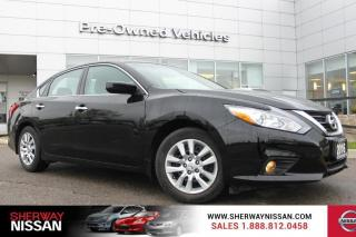 Used 2016 Nissan Altima One owner accident free trade. Nissan certified preowned! for sale in Toronto, ON