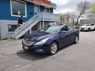 Used 2012 Hyundai Sonata Limited **Leather/Pano Roof/Only 67k!** for sale in Barrie, ON