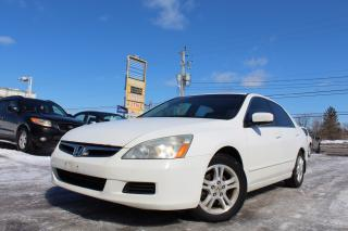 Used 2007 Honda Accord EX-L for sale in Gloucester, ON