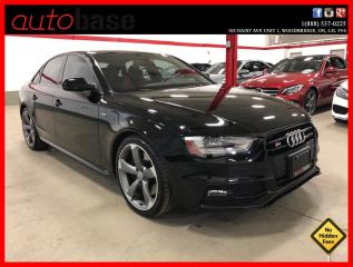 Used 2016 Audi S4 TECHNIK PLUS BLACK OPTICS SPORT DIFF for sale in Vaughan, ON
