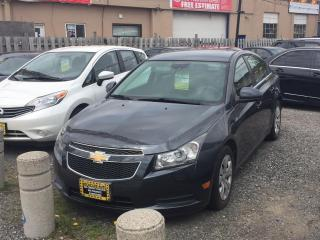 Used 2013 Chevrolet Cruze 4dr Sdn LT Turbo w/1SA for sale in Scarborough, ON