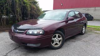Used 2004 Chevrolet Impala LS for sale in Gloucester, ON