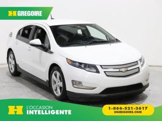 Used 2014 Chevrolet Volt 5DR HB A/C GR ELECT for sale in St-Léonard, QC