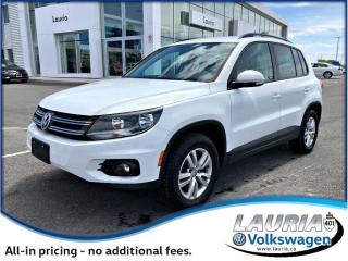 Used 2014 Volkswagen Tiguan Trendline - 1 owner for sale in PORT HOPE, ON