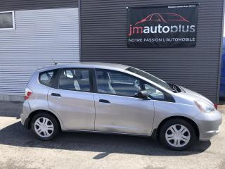 Used 2009 Honda Fit Hayon, manuelle, DX for sale in Québec, QC