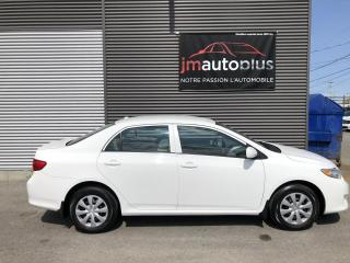 Used 2010 Toyota Corolla Berline, automatique, CE for sale in Québec, QC