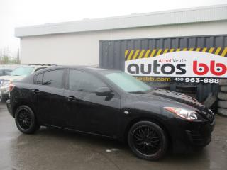 Used 2010 Mazda MAZDA3 Hayon 4 portes Sport, boîte automatique, for sale in Laval, QC