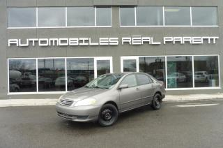 Used 2003 Toyota Corolla for sale in Québec, QC