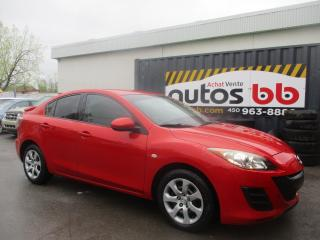 Used 2010 Mazda MAZDA3 Berline 4 portes, boîte manuelle, GS for sale in Laval, QC