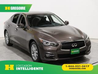 Used 2015 Infiniti Q50 SPORT A/C for sale in St-Léonard, QC