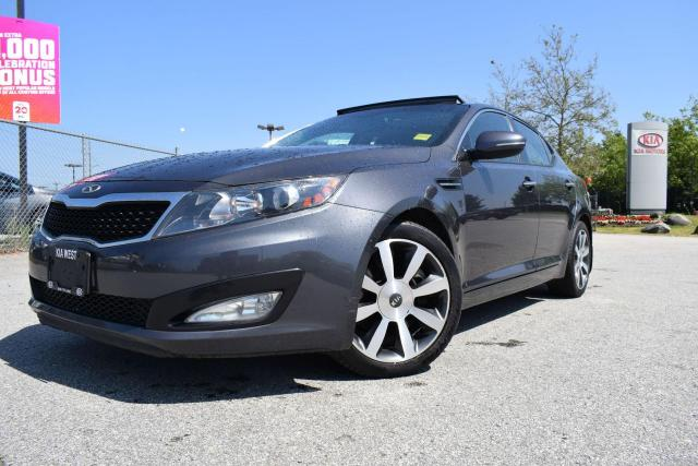 2012 Kia Optima EX Luxury AC/AUTO/ROOF/LEATHER/PL/P