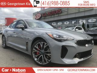 Used 2019 Kia Stinger GT LTD | $333 BI-WEEKLY | 1 OF ONLY 150 | for sale in Georgetown, ON