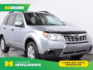 Used 2012 Subaru Forester 2.5X AWD for sale in St-Léonard, QC
