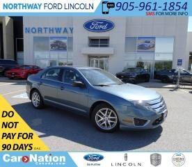 Used 2011 Ford Fusion SEL | HTD LEATHER | SUNROOF | 12 SPEAKERS | SYNC | for sale in Brantford, ON