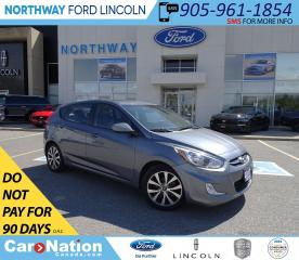 Used 2017 Hyundai Accent SE | HTD SEATS | BLUETOOTH | SUNROOF | KEYLESS | for sale in Brantford, ON