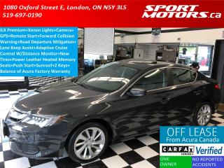 Used 2016 Acura ILX Premium+Camera+GPS+Blind Spot+Xenons+Adaptive Cru for sale in London, ON