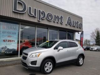 Used 2015 Chevrolet Trax LT 4 portes à transmission intégrale ave for sale in Alma, QC