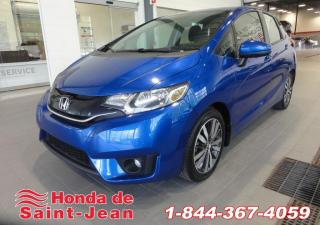 Used 2016 Honda Fit EX CVT A/C Mags Camera for sale in St-Jean-Sur-Richelieu, QC